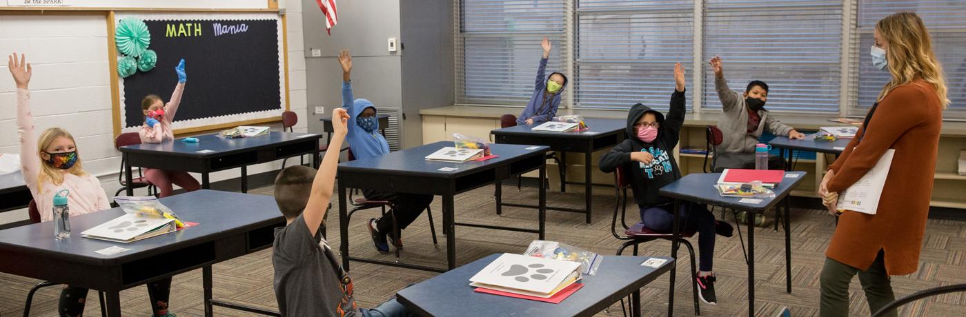 Garton Students in Classroom
